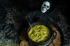 Killer vegan Jalapeño Hummus in a spooky bowl for all of your Halloween festivities! Jalapeno Pepper, Whole Food Recipes, Vegan Recipes, Cooking Recipes, Ninja Recipes, Chutney, Halloween Appetizers, Halloween Recipe, Sweets