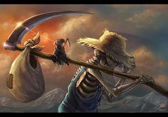 Reaper Man by Maxa Art
