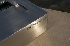 Quemador de bioetanol Square by Shioconcept