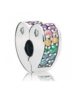 f0c9f96096c Pandora Clip Arcs de l'Amour Multicolores Pandora Charms, Pandora Sale,  Iris,