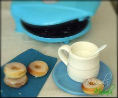 Mini-donuts con máquina