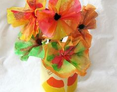 Fun Activities for Kids - Coffee Filter Flowers | SitterCycle