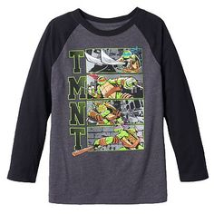 Teenage Mutant Ninja Turtles Raglan Tee - Boys 4-7