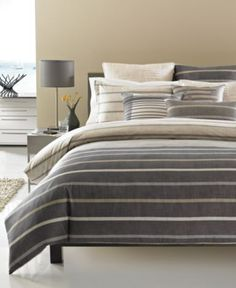 hotel collection modern colonnade bedding collection bedding collections bed u0026 bath macyu0027s
