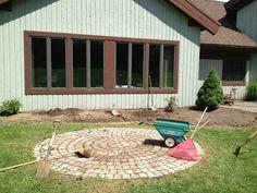 www.Sollecito.com Brick Garden Center Piece