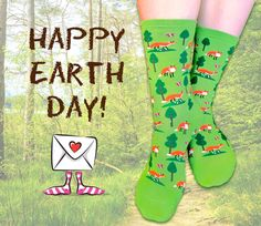 April 22, 2013 Earth Day with Fox Socks