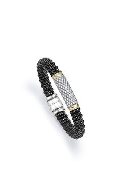 PIN TO WIN A PIECE OF BLACK CAVIAR! See our board for details. @lagosjewelry #loveLAGOS #StackWithBlack