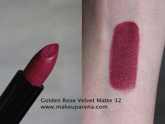 Golden Rose Velvet Matte ruževi - nove nijanse 32 i 33 Lipstick Colors, Lip Colors, Makeup Tips, Eye Makeup, Makeup Hacks, Golden Rose Lipstick, Makeup To Buy, Velvet Matte, Colors
