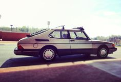 SAAB 900 Ours was maroon. Had it from 1985-2006. Loved that car!!