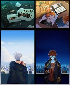 Saeran: He's a traitor and I will get my revenge Saeyoung: i need to find him...and protect him...