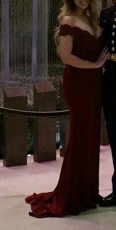 Amazon.com: LovingDress Women's Prom Dresses Spandex Off The Shoulder Long Evening Dress: Clothing