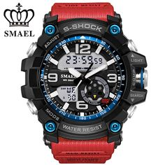 SMAEL Military Sport Watches montre Men Digital Quartz Watch Outdoor Waterproof LED Watches Casual S Shock Male Clock relogios //Price: $US $12.95 & FREE Shipping //     #hashtag4