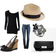 Outfit Idea to wear my hat
