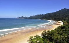 A praia de Lopes Mendes, em Ilha Grande, é considerada uma das mais bonitas do Rio de Janeiro - Foto: Luis Fernando Lara