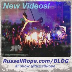 #New #Videos @ http://www.russellrope.com/blog #Follow @RussellRope