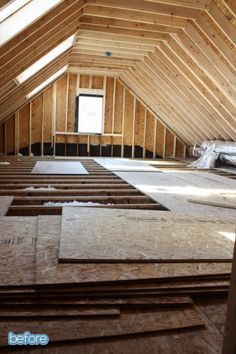 Amazing Attic Renovation  Better After: Your Homes Cool.