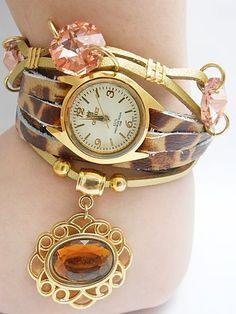 Relógio Feminino Onça Vintage produzido por pmalafaia76 no AIRU
