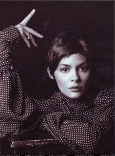 Audrey Tautou, by Mark Abrahams