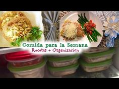 Como organizarte para comer Sano: Recetas + Organización (Ep 4) - YouTube
