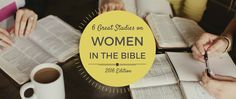 Here is our 2016 list of studies that focus on women in the bible, are designed for individual or group study, and are compatible with an egalitarian view.