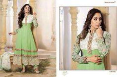 Simple Light Green but looking reach dress