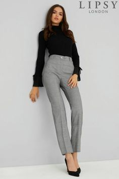Buy Lipsy Check Tailored Trousers from the Next UK online shop