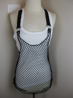 I would wear this with everything if I had it - Abbey Dawn Fishnet Tank Top - Short Fuse Grunge Outfits, Grunge Fashion, Diy Fashion, Fashion Outfits, Abbey Dawn, Tokyo Street Style, Harajuku Girls, Japanese Street Fashion, Short Fuse