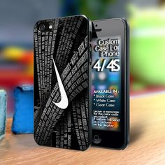 The History Nike Iphone 4 case