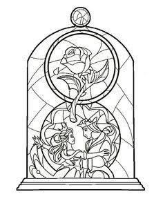 Resultado De Imagem Para Disney Stained Glass Window Ideas Para