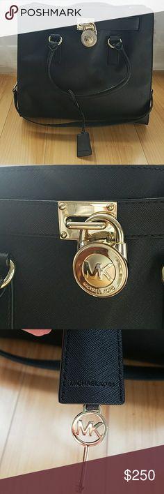 Michael Kors Hamilton bag Michael Kors Hamilton bag large black Michael Kors Bags