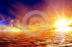 Colorful Sunset Stock Image - Image: 20287761