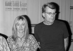J.K Rowling and Stephen King. My favorites in the world (@Julie Boehmke - I WROTE THIS!!!!)