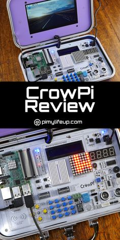 Our look at the CrowPi educational kit featuring the Raspberry Pi.