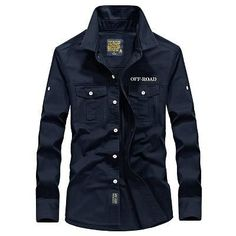 Men's Off-Road Style Tactical Shirt