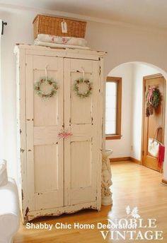 Shabby Chic Kitchen Decoration Ideas  #shabbychicdecor #shabbychic