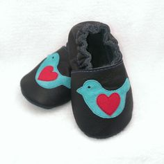 Buy Now Bird soft sole leather shoes leather baby shoes baby...