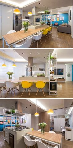 Semerene Interior Architecture have designed an apartment for a young couple in Brasilia, Brazil.