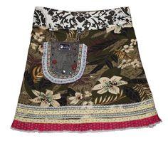 Wrapskirt ° Rose - long 01 - Skirt from Zand Amsterdam
