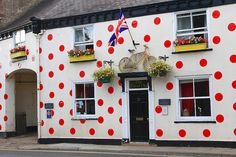 Polka Dot Pub in Knaresborough, North Yorkshire   ᘡղbᘠ