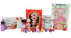 To celebrateNational Strawberry Month, I am giving away a Strawberry Shortcake prize package.