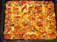 Krížikové vyšívanie Pepperoni, Cross Stitch, Food, Punto De Cruz, Seed Stitch, Essen, Cross Stitches, Meals, Yemek