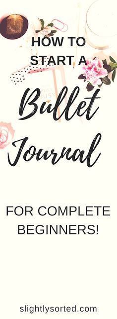 I love this post on how to start a bullet journal, as it makes it really simple for beginners. It kind of breaks it down to the basics, then you can start with the more complicated stuff once you get going. Loving my bullet journal!