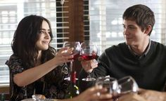 Still of Logan Lerman and Lily Collins in Stuck in Love (2012)