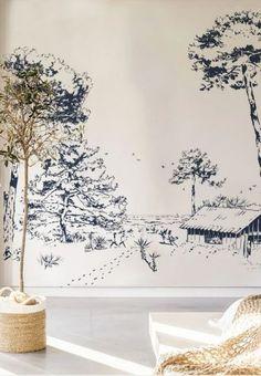 High Walls, Moleskine, Tapestry, Color, Design, Home Decor, Cap Ferret, Pins, Site Internet