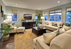 Toll Brothers - The expansive family room is perfect for entertaining everyone.