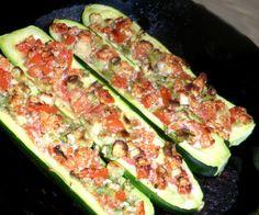 Low Carb Stuffed Zucchini Recipe - Low-cholesterol.Food.com: Food.com