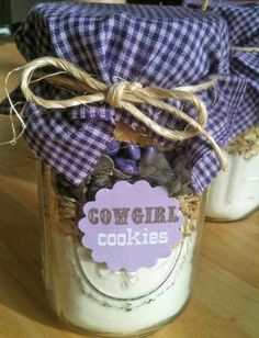 Cow Girl Party Favors!