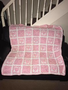 Baby Girl Cot Blanket by NikkiJayne