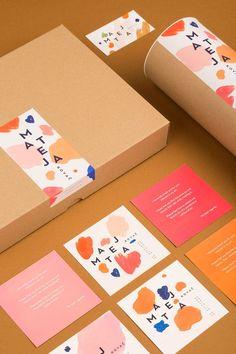 Mateja Kovač | Identity Designed  Cartes de visite - Inspiration cartes de visite design et originales