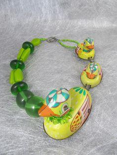 Whimsical  ducks by Sally Bass
